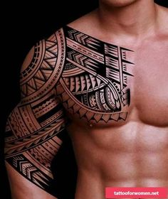 Polynesien Tatouage Maorie Epaule Homme Maori Poly