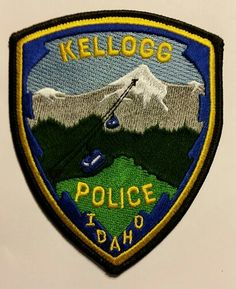 Freemont County Sheriff State Idaho ID Scenic patch