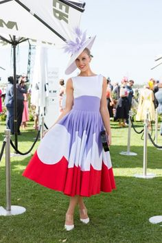 Street style from Melbourne Cup 2015: Crystal Kimber