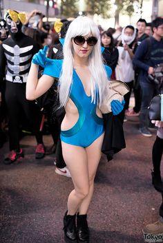 Lady Gaga ... PART 2, Halloween 2014, Shibuya, Tokyo. tons more photos here: https://www.flickr.com/photos/tokyofashion/sets/72157648649576407/ || 31 October 2014 | #Fashion #Harajuku (原宿) #Shibuya (渋谷) #Tokyo (東京) #Japan (日本)
