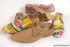 Shoes made of cardboard » Biskvitka.net - The First Bulgarian Entertainment Portal