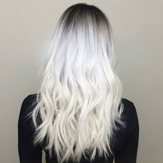 """behindthechair.com on Instagram: """"Frozen Shadow Blonde... via @shagboston by @kelseyraecolors #frozenblonde #behindthechair"""""""
