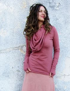 Gaia Conceptions - Super Cowl Wool Shirt, $275.00 (http://www.gaiaconceptions.com/super-cowl-wool-shirt/)