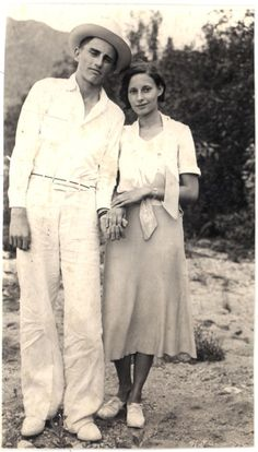 Man and woman c. 1933