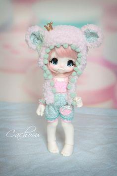 pattern for doll kinoko doll Pretty Dolls, Beautiful Dolls, Kawaii Doll, Pop Dolls, Smart Doll, Anime Dolls, Doll Repaint, Custom Dolls, Ball Jointed Dolls