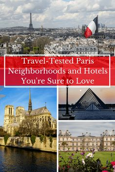 Where to Stay in Paris- Travel Tested Neighborhoods and Hotels You're Sure to Love! I'm revealing all the secrets of my Paris trip planning notebook! | Paris Travel