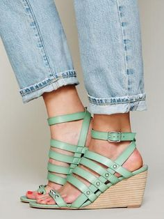 Free People Lily Mini Wedge