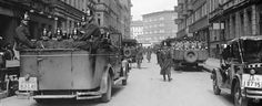 """Berlin 1933 -  Searching  """"the Berlin Jewish Quarter in the Grenadierstrasse (now Almstadtstr.) and Dragonerst.(today:. Max-Beer-Str.) for communist leaflets and pesky foreigners"""""""