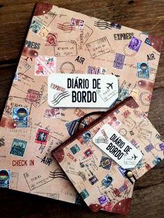 Coleção Diário de Bordo http://papelcraftloja.com.br