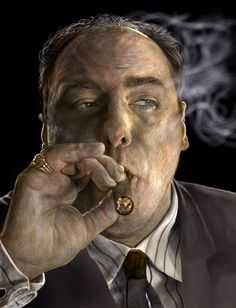Waste Management Consultant by davidbrooker.deviantart.com on @deviantART    James Gandolfini