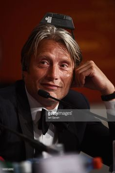 Juury member Mads Mikkelsen attend the Palme D'Or Winner Press Conference during the 69th annual Cannes Film Festival at the Palais des Festivals on May 22, 2016 in Cannes, France.