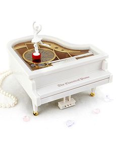 Have! Love this White Piano Music Box on #zulily! #zulilyfinds