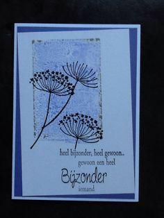 Condoleancekaart / eigen creaties