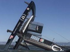 America's Cup. Les images d'un chavirage spectaculaireen baie de San Francisco | Nautisme | Scoop.it
