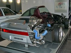 Porsche 959 - Cutaway, This would probably anger some people.