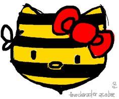 ur fave charachter as a bee pio #drawception
