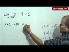 Ecuación logarítmica con la incógnita en la base: Julio Rios explica cómo solucionar una ecuación logarítmica donde la incógnita se encuentra en la base del logaritmo