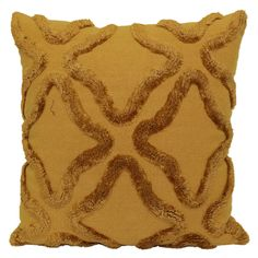 Liven up your home décor with the GOLD TUFTED TRELLIS Visit your local At Home store to purchase and find other affordable Throw Pillows. Accent Pillows, Throw Pillows, My Furniture, At Home Store, Dream Decor, Trellis, Gold, Basement Ideas, Room Ideas
