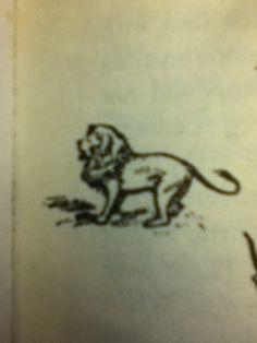 Narnia Aslan tattoo - chapter art style- need/want