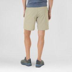 Wrangler Men's Outdoor Series Flat Front Performance Shorts - Khaki (Green) 36