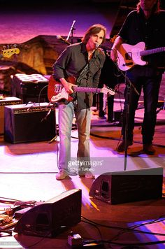 Rock musician Jackson Browne performs at the Jail Guitar Doors All-Star Fundraising Concert at Ford Theatre on September 5, 2014 in Hollywood, California.