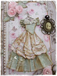 Live & Love Crafts' Inspiration and Challenge Blog: Shabby Lace Book
