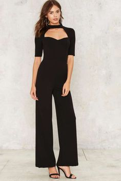 Follow Suit Cutout Jumpsuit - Rompers + Jumpsuits | Sale: Newly Added | Sale: 40% Off | Back In Stock | Rompers + Jumpsuits