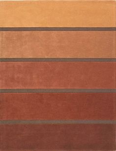 rug with copper colored stripes