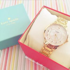 Loving this watch #katespade #kawaii #pastel by forevercutekitty