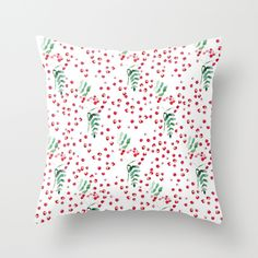 rowanberry Throw Pillow