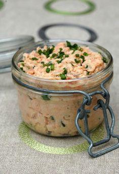 Rillettes deux saumons facon Robuchon