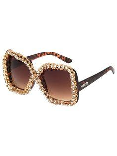 A-MORIR Óculos De Sol Marrom. @farfetchbrasil