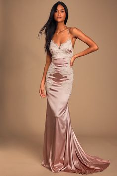 PINK//NUDE Day//Party Dress BRAND NEW W//TAGS Floral Print Thigh Split Maxi Dress