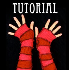 Arm Warmer Pattern Great Christmas Gift idea PDF by katwise