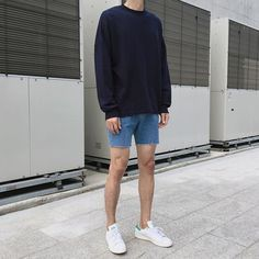 Summer Outfits Men, Short Outfits, Trendy Outfits, Fashion Outfits, Male Outfits, Korean Fashion Men, Korean Street Fashion, Mens Fashion, Fashion Fall
