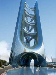 // Atrium City Towers // Adrian Smith + Gordon Gill Architecture