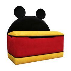 Disney Mickey Mouse Toy Box - Walmart.com ($100) found on Polyvore