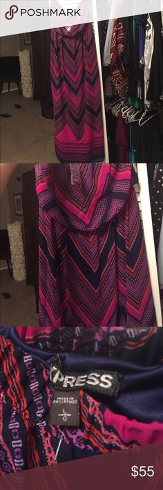 Express strapless maxi dress new with tags New with tags Express strapless dress Express Dresses Strapless
