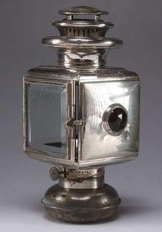 Antique Carriage Kerosine Lantern by VintagebyViola on Etsy, $145.00