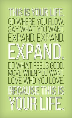 Your Life #quote #quotes #quoteoftheday #inspiration #inspiring #inspirational #words #wisdom #wordsofwisdom #motivation #motivating #motivational #life #love #expand #expanding #good #goodness #move #life #yourlife #live #living #livefortoday    (http://trinadlambert.com)