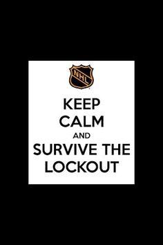 NHL lockout :(