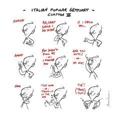 Italian Hand gestures 3