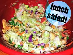 Leftover Lunch Salad – Simply Taralynn