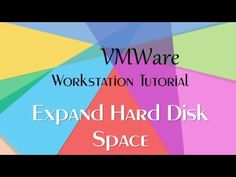 How To Expand Virtual Disk Size and Extend Partition Size in VMWare Work...