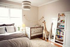 Create a baby corner in your bedroom. | 25 Hacks To Make Room For A Baby In Your Tiny Home