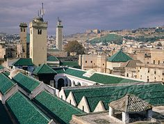 Al-Karaouine in Fes, Morocco - My favorite masjid of all the ones I've seen.