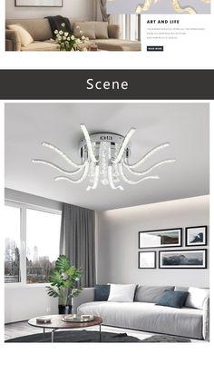 Interior Deluxe Alien 2 LED Ceiling Light | Interior-Deluxe.com Circular Ceiling Light, Alien 2, Basement Plans, Led Ceiling Lights, Led Technology, Save Energy, Dining Room, Bedroom, Interior