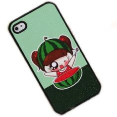 Watermelon Girl Case Cover for Iphone 4 4s by generic, http://www.amazon.com/dp/B009QTDT04/ref=cm_sw_r_pi_dp_xK1Wqb1X1DXN5