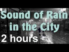 ▶ City Rain - 2 Hour Long Thunderstorm in the City Sleep Sound - YouTube