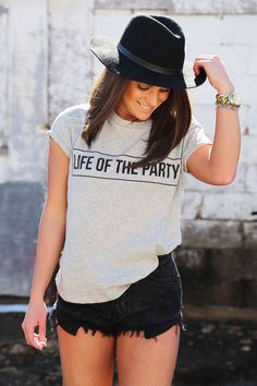 Life Of The Party Graphic Tee